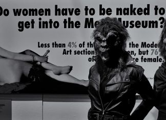 Guerrilla Girls, V&A Museum, London - photo Eric Huybrechts