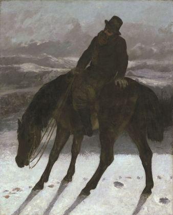 Gustave Courbet, Cacciatore a cavallo, 1864 ca. New Haven, Yale University Art Gallery