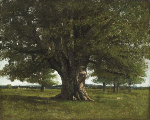 Gustave Courbet, La quercia di Flagey, 1864. Ornans, Musée Gustave Courbet © Musée Courbet