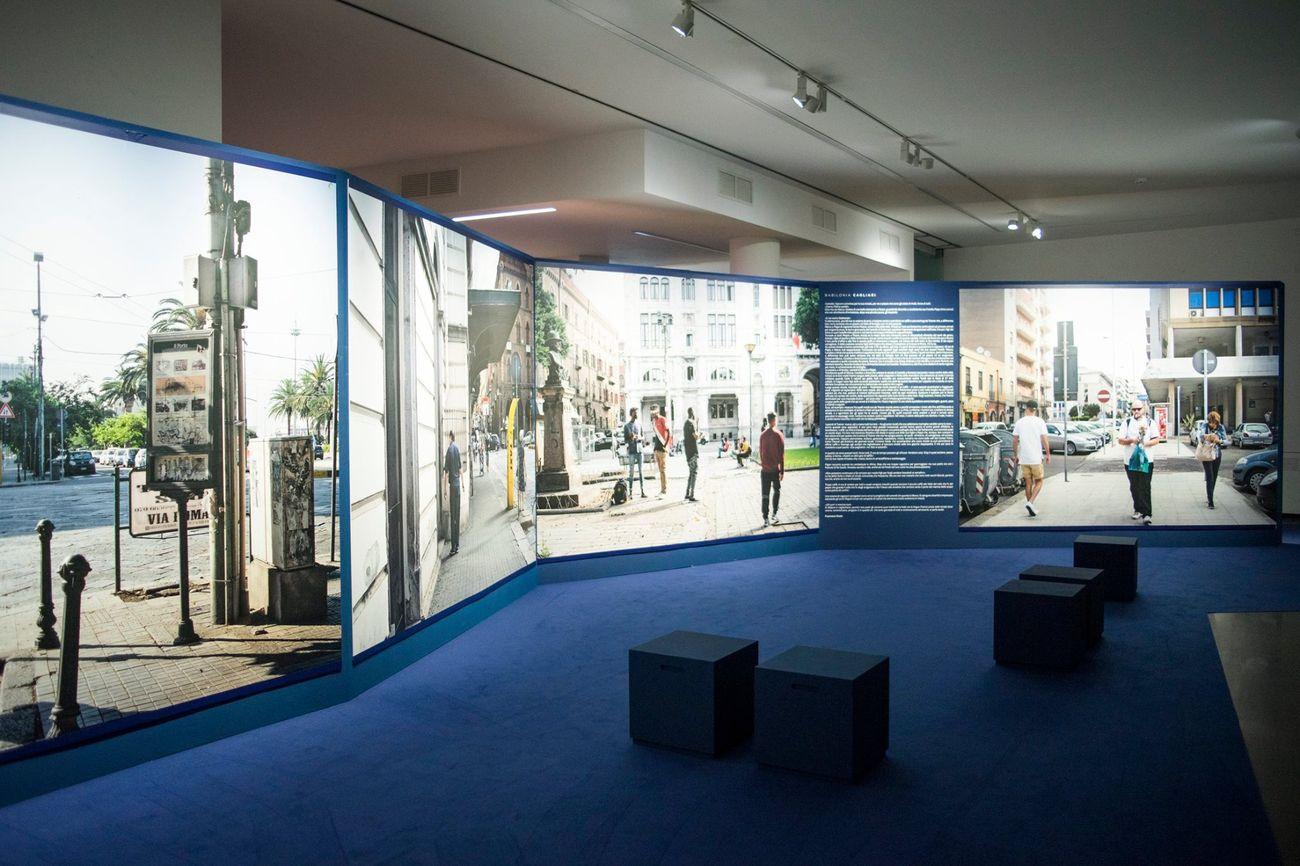 Guy Tillim. Cagliari. Exhibition view at Fondazione di Sardegna, Cagliari 2018. Photo Emanuela Meloni
