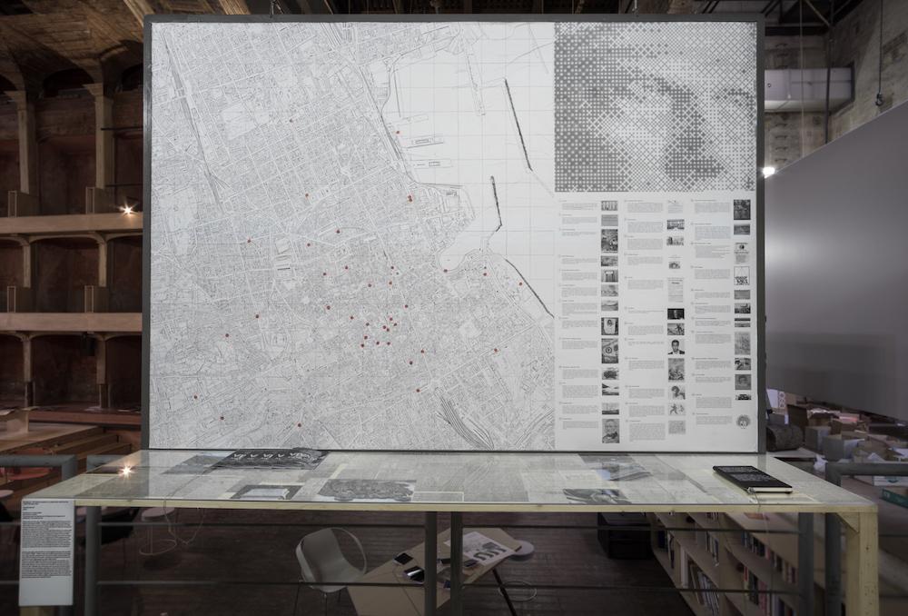 I luoghi di Viva Manilicchi! sulla mappa di Palermo realizzata da Fare Ala – Foto R. Romano