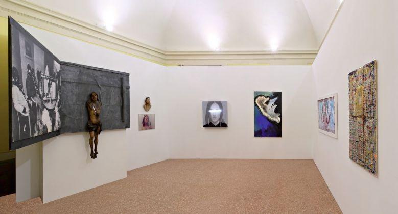 Intra moenia. Exhibition view at Castello Campori, Soliera 2018. Photo Fabio Fantini