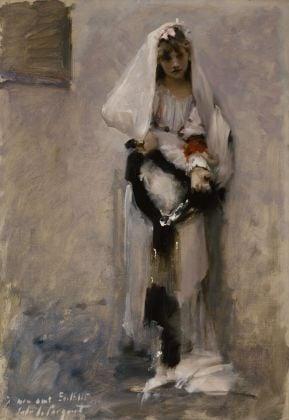 John Singer Sargent, A Parisian Beggar Girl, 1880. Terra Foundation for American Art, Chicago