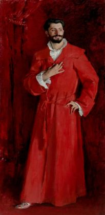 John Singer Sargent, Dr. Pozzi at Home, 1881. The Armand Hammer Collection, Los Angeles