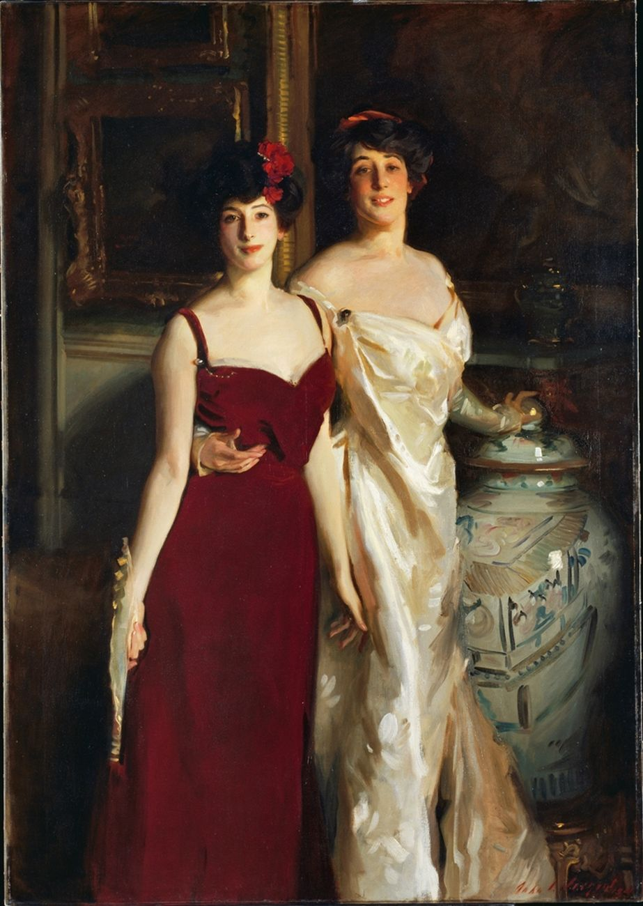 John Singer Sargent, Ena and Betty, Daughters of Mr and Mrs Asher Wertheimer, 1901 © Tate, London 2017