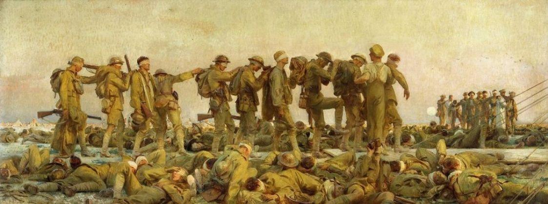 John Singer Sargent, Gassed, 1919. Imperial War Museum, Londra
