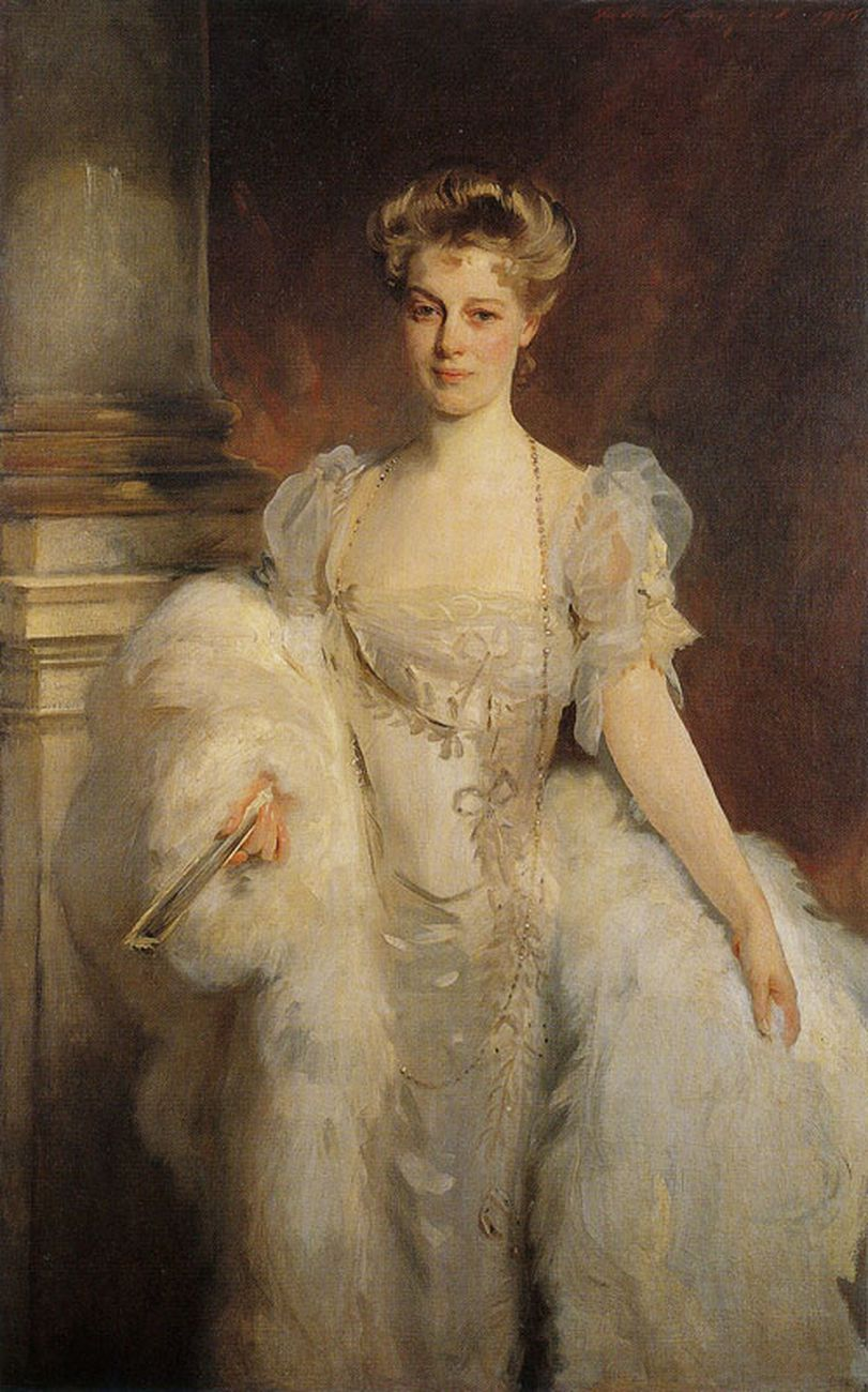 John Singer Sargent, Mrs. J. P. Morgan Jr., 1905 ca. Morgan Library&Museum, New York