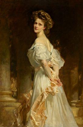 John Singer Sargent, Mrs. Waldorf Astor, 1908-09. Cliveden Estate, Taplow, Londra