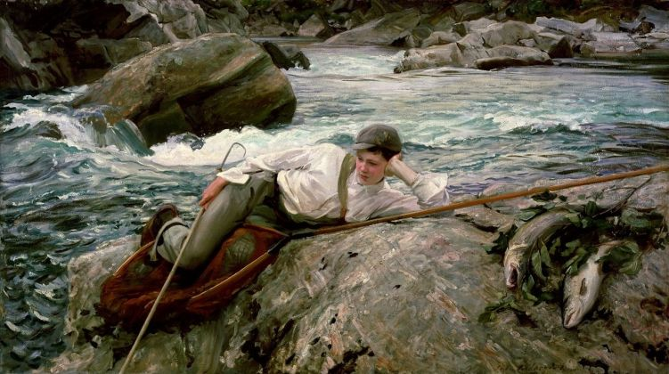 John Singer Sargent, On his Holidays, Norway, 1901. Lady Lever Art Gallery, National Museums, Liverpool