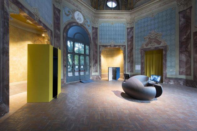 Jon Rafman. The Mental Traveller. Exhibition view at Fondazione Modena Arti Visive, Modena 2018. Photo © Rolando Paolo Guerzoni, 2018