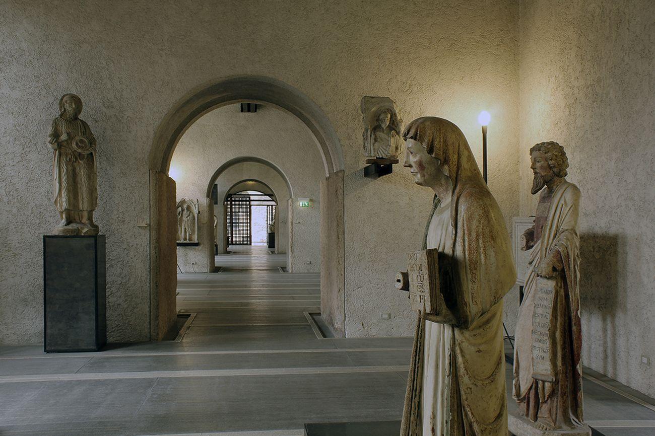 Museo Di Castelvecchio.La Galleria Sculture Di Carlo Scarpa Courtesy Archivio Carlo Scarpa
