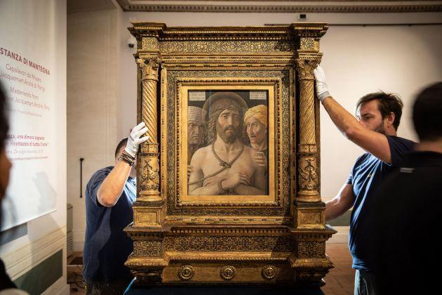 La stanza di Mantegna. Capolavori dal Museo Jacquemart André di Parigi. Installation at Gallerie Nazionali di Arte Antica Palazzo Barberini, Roma 2018. Photo Alberto Novelli