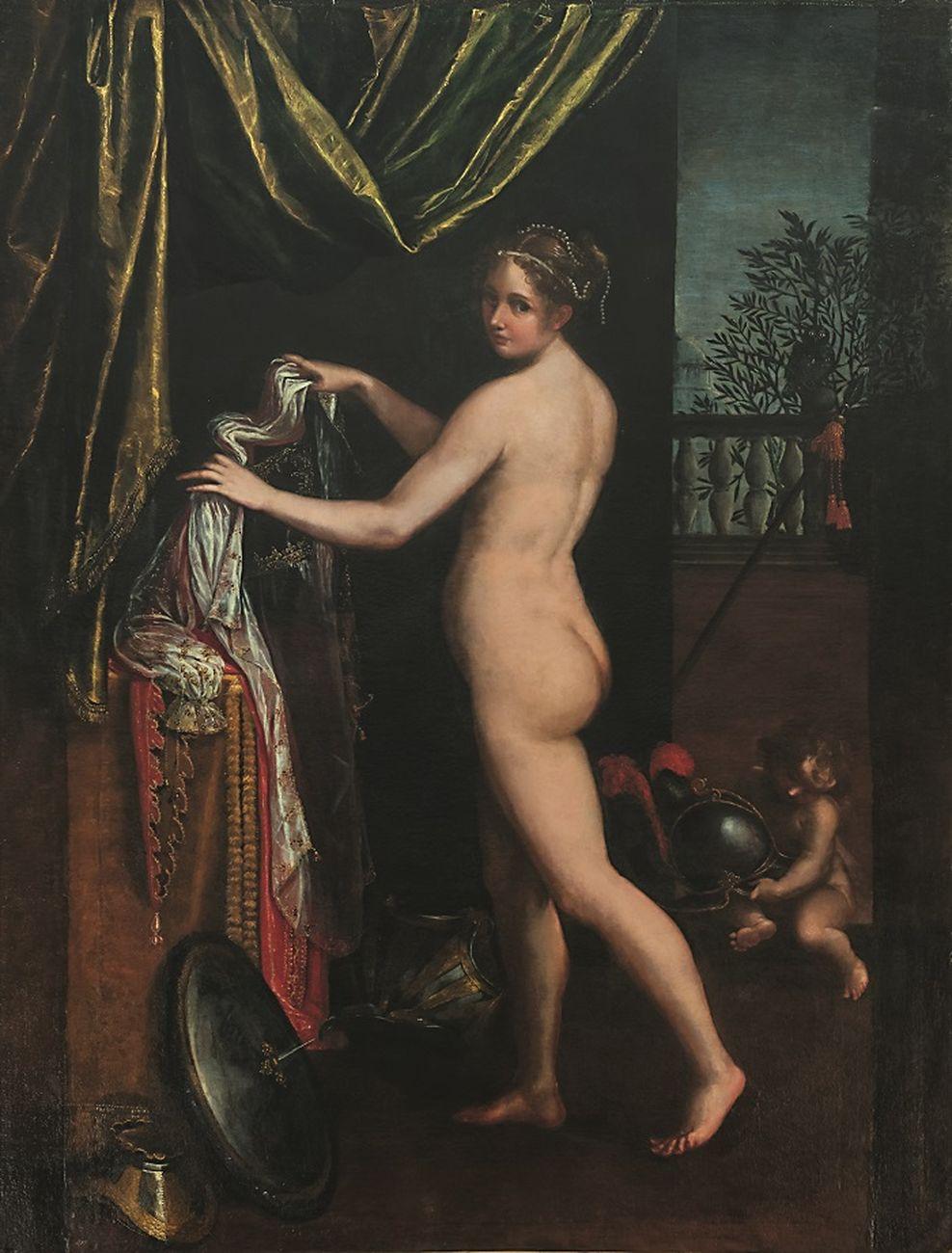 Artemisia Gentileschi, Autoritratto, 1637. Gallerie Nazionali d'Arte Antica di Roma