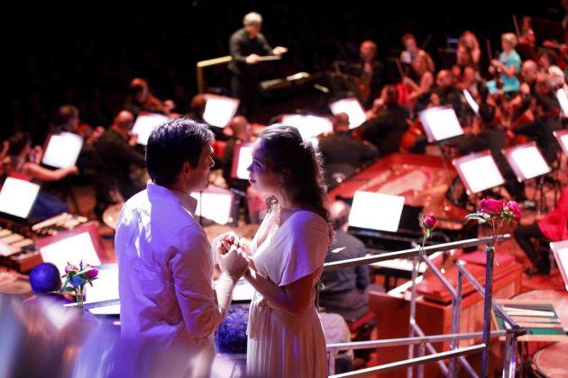 Leonard Bernstein, West Side Story. Direttore d'orchestra Antonio Pappano. Accademia Nazionale di Santa Cecilia, Roma 2018. Photo Musacchio&Ianniello