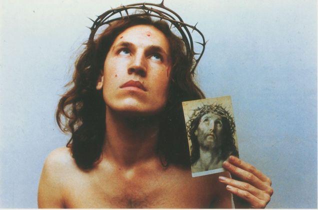 Luigi Ontani, Ecce homo, 1972. Photo Paolo Pugnaghi. Collezioni Cattelani