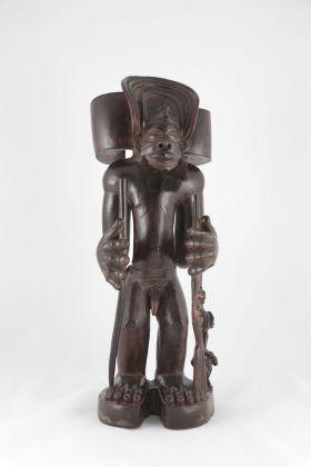 Maestro della Scuola di Moxico, Ritratto di Tschibinda Ilunga. Africa centrale. Angola nord orientale. Etnia Chokwe. Fine del XI