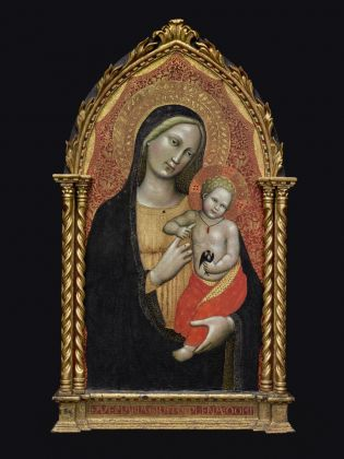 Maestro della Madonna Straus, Madonna con il Bambino © The Museum of Fine Arts, Houston, The Edith A. and Percy S. Straus Collection