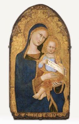 Maestro della Madonna di Palazzo Venezia, Madonna con il Bambino. Gallerie Nazionali di Arte Antica, Palazzo Barberini, Roma