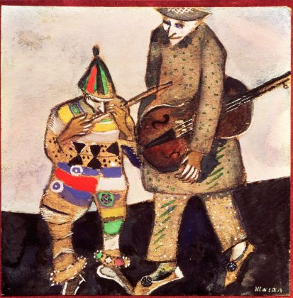Marc Chagall, I musicanti, 1911 ca. Galleria Statale Tret'jakov di Mosca © The State Tretyakov Gallery, Moscow, Russia © Chagall ®, by SIAE 2018