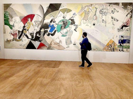 Marc Chagall. Come nella pittura, così nella poesia. Exhibition view at Palazzo della Ragione, Mantova 2018