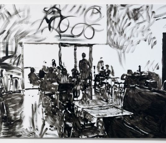 Merlin Carpenter, Tate Café 7, 2011. Courtesy Simon Lee Gallery, Londra Hong Kong