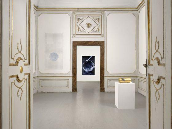 Michel François. Exhibition view at Galleria Alfonso Artiaco, Napoli 2018. Photo Luciano Romano