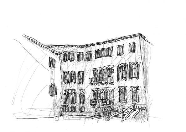 Michele De Lucchi, matita su carta. Fondazione Querini Stampalia, Venezia, Intesa Sanpaolo, 2015-2018