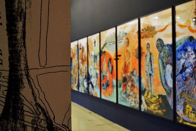 Nalini Malani. La rivolta dei morti. Retrospettiva 1969-2018. Parte II. Exhibition view at Castello di Rivoli, 2018