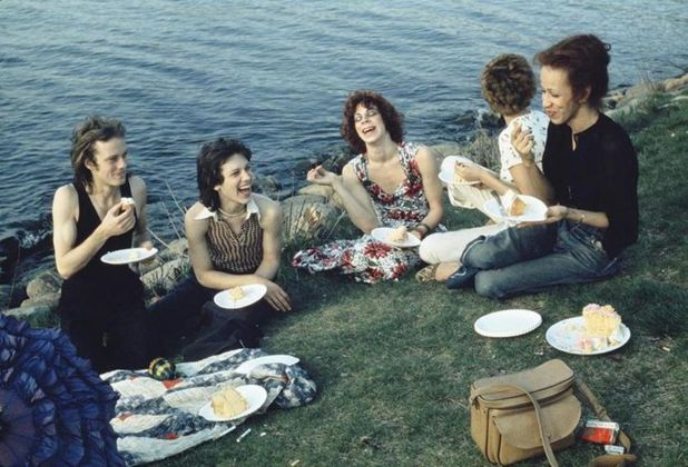 Nan Goldin, Picnic on the Esplanade, Boston, 1973