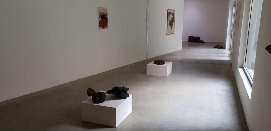 Nanni Valentini. La terra, il luogo. Exhibition view at Galleria Monopoli, Milano 2018