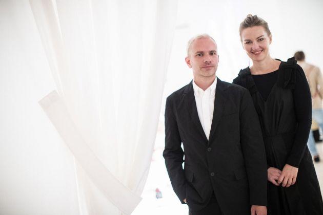 Nathalie Djurberg e Hans Berg. Photo credits Mart Jacopo Salvi