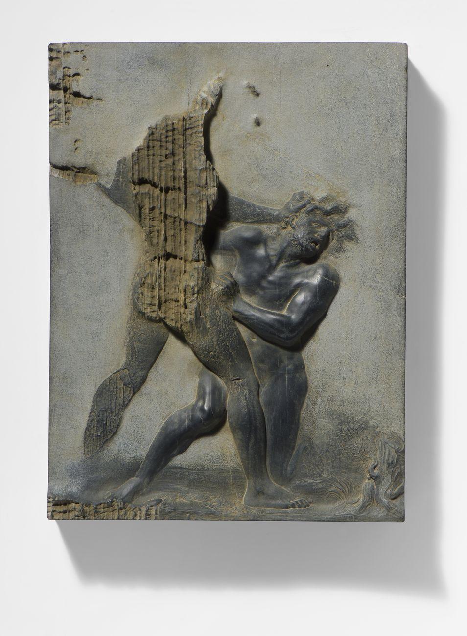 Nicola Samorì, Caina, 2018. Courtesy Galerie EIGEN + ART, Lipsia Berlino. Photo Rolando Paolo Guerzoni