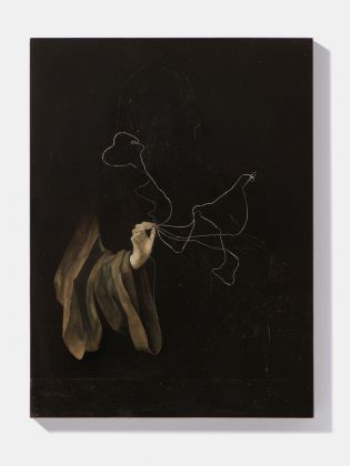 Nicola Samorì, Grottesca, 2018. Courtesy Galerie EIGEN + ART, Lipsia-Berlino