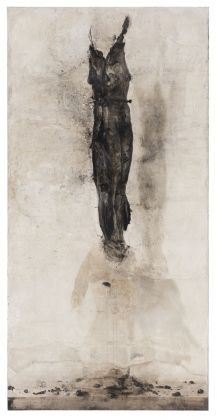 Nicola Samorì, Inginocchiatoio, 2018. Courtesy Galerie EIGEN + ART, Lipsia Berlino. Photo Rolando Paolo Guerzoni