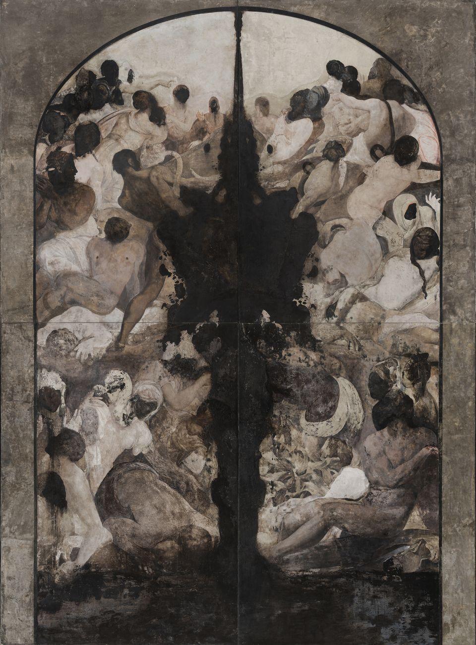Nicola Samorì, Valle Umana (Malafonte), 2018. Courtesy Galerie EIGEN + ART, Lipsia Berlino