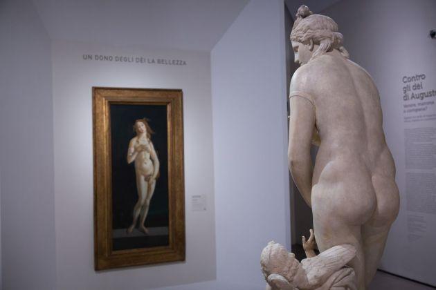 Ovidio. Amori, miti e altre stori, exhibition view at Scuderie del Quirinale, Roma 2018. Photo Riccardo Pompili