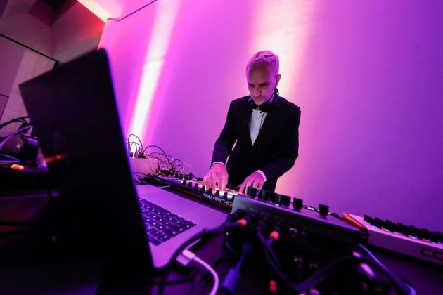 Party d'inaugurazione al Mart di Rovereto con dj set di Hans Berg. Photo credits Mart Jacopo Salvi