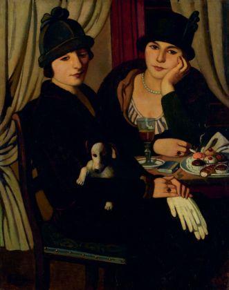 Piero Marussig, Donne al caffè, 1924. Museo del Novecento, Milano