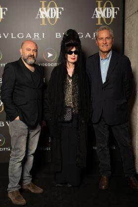 Pierre Bismuth, Diane Pernet, Francesco Rutelli - ASVOFF Roma