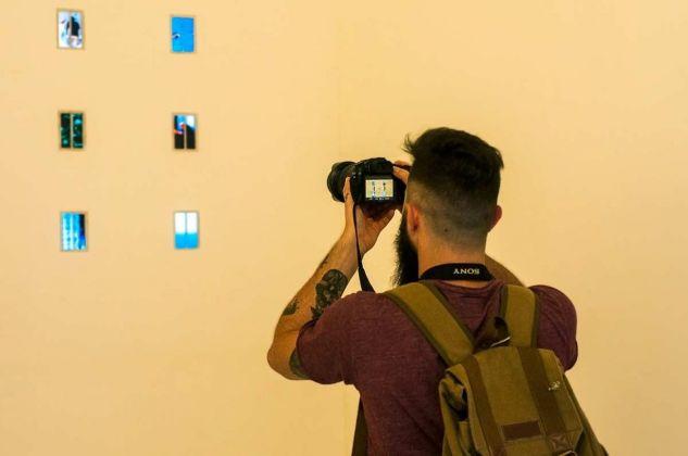 Raffaele Fiorella, Relazioni. Installation view at Kunstschau Contemporary Place, Lecce 2018. Photo Grazia Amelia Bellitta