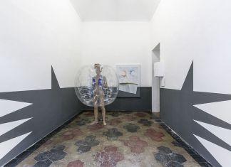 Riccardo Previdi, The Bubble boy (needs a hug), 2018. Installation view at Quartz Studio, Torino 2018. Courtesy the artist & Quartz Studio. Photo Beppe Giardino
