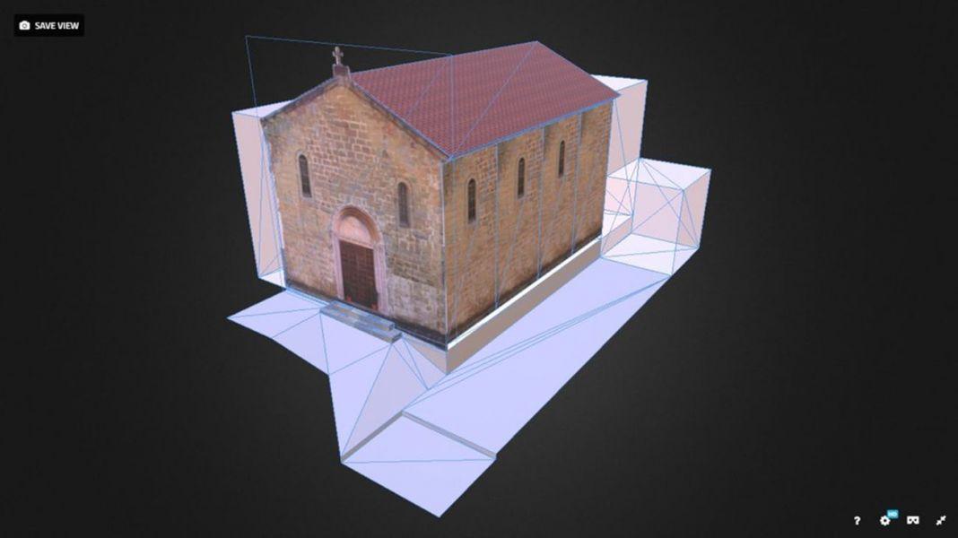 Ricostruzione Chiesa SS Pietro e Lorenzo ad Accumoli. Courtesy NUME