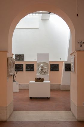 Rolf Nowotny. Exhibition view at Museo Pietro Canonica, Roma 2018