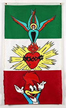 Ronnie Cutrone, Heart of hearts, 1992. Photo Fabio Fantini. Collezioni Cattelani