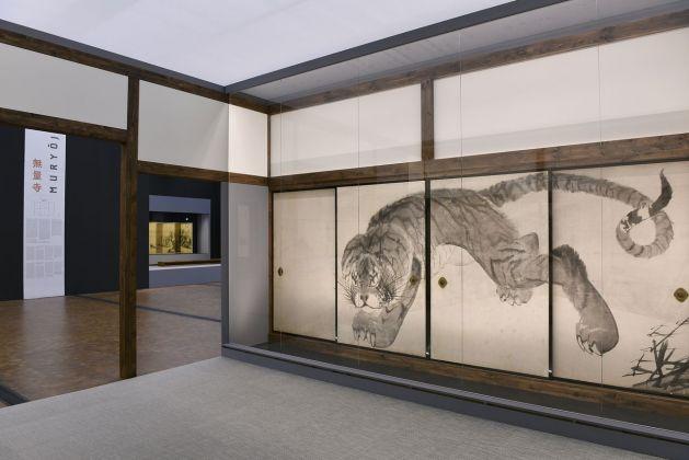 Rosetsu. Il fantastico immaginario del Giappone. Exhibition view at Museum Rietberg, Zurigo 2018. Photo © Museum Rietberg Rainer Wolfsberger