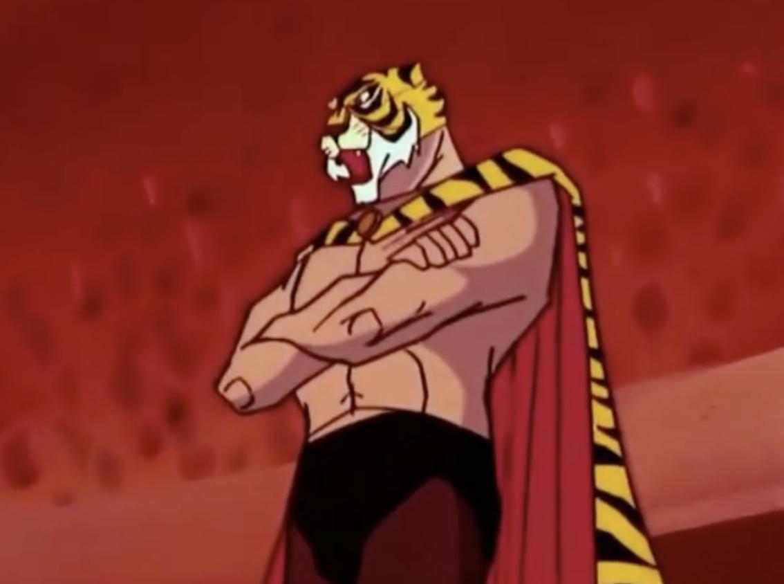 l uomo tigre