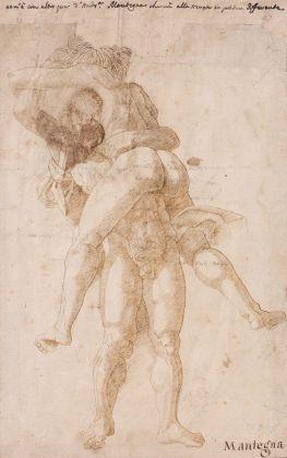 Scuola mantegnesca, Ercole e Anteo (fronte). Paris, Musée Jacquemart André – Institut de France © Studio Sébert Photographes