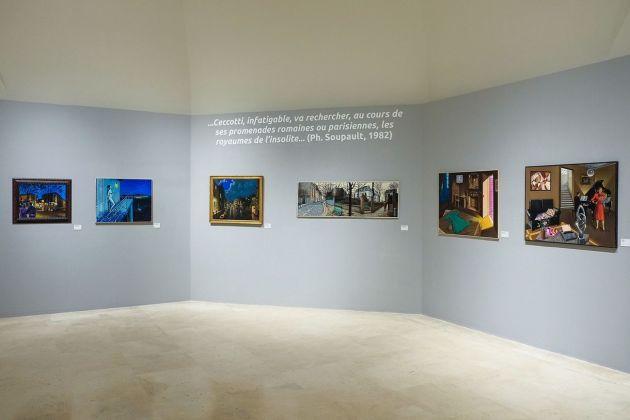 Sergio Ceccotti. Il romanzo della pittura 1958-2018. Exhibition view at Palazzo delle Esposizioni, Roma 2018