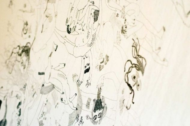 Simona Anna Gentile, Mehr als zweitausend Jahre. Installation view at Kunstschau Contemporary Place, Lecce 2018. Photo Grazia Amelia Bellitta