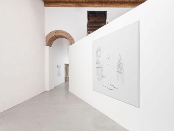 Stefano Spera - Giuseppe Buffoli. Tanto qualcosa ti resta addosso. Exhibition view at Villa Contemporanea, Monza 2018, photo Cosimo Filippini 2018